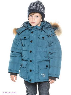 Куртка MES AMI. Цвет: морская волна