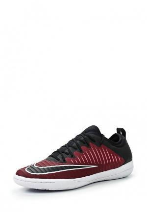 Бутсы зальные Nike. Цвет: бордовый