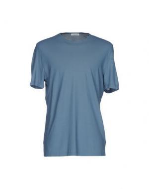 Футболка GRAN SASSO. Цвет: синий