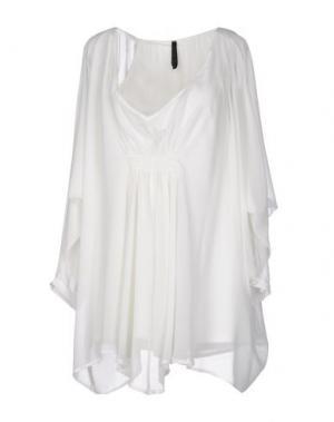 Короткое платье FALORMA. Цвет: белый