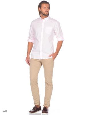 Рубашка Colin's. Цвет: розовый