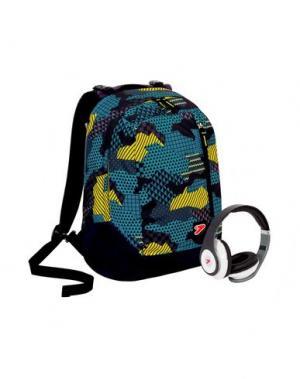 Рюкзаки и сумки на пояс SEVEN. Цвет: пастельно-синий