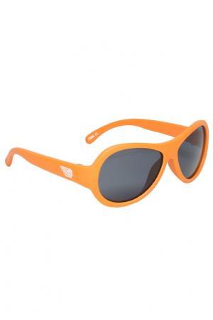 Оранжевые детские очки Babiators. Цвет: оранжевый