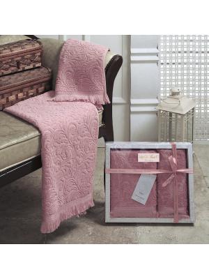 Esra (роз) 50x90-70х140 Комп. полотенец Sofi de Marko. Цвет: розовый