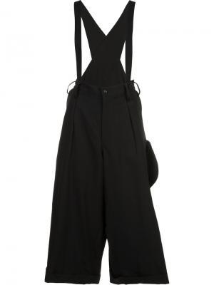 Outer pocket overalls Yohji Yamamoto. Цвет: чёрный