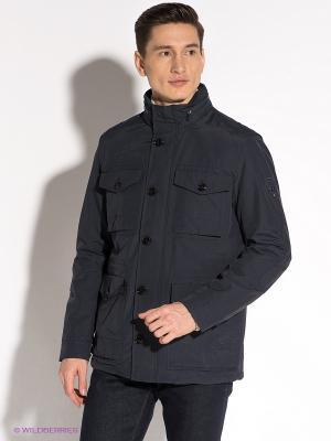 Куртка Tommy Hilfiger. Цвет: темно-синий