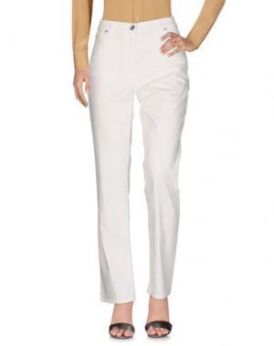 Повседневные брюки HENRY COTTON'S. Цвет: слоновая кость