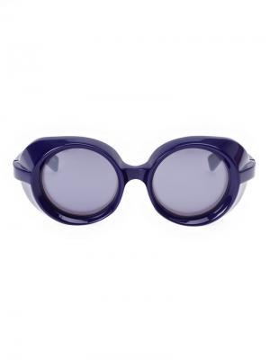 Солнцезащитные очки в защитном стиле Factory 900. Цвет: розовый и фиолетовый