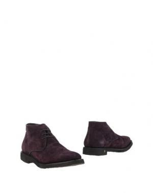 Полусапоги и высокие ботинки ANDREA VENTURA FIRENZE. Цвет: темно-фиолетовый