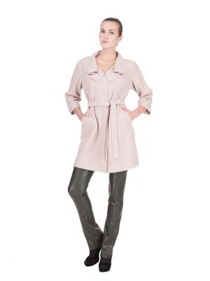 Пальто LUDMILA LABKOVA. Цвет: розовый