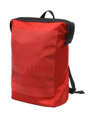 Рюкзаки и сумки на пояс CALVIN KLEIN. Цвет: красный