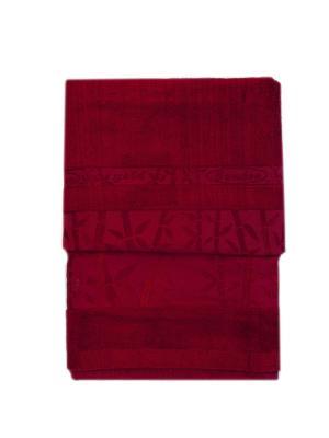 Комплект полотенец 2 предмета La Pastel. Цвет: красный