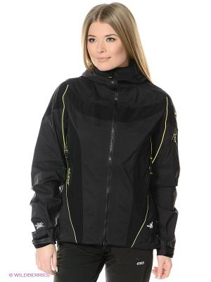 Куртка Salewa. Цвет: черный