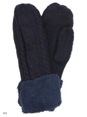 Варежки UFUS. Цвет: синий