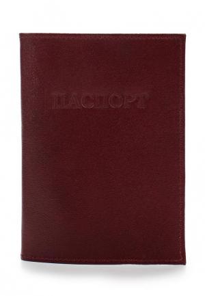 Обложка для паспорта Olci. Цвет: бордовый
