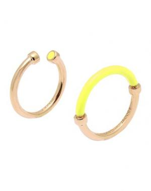 Кольцо MARC BY JACOBS. Цвет: желтый