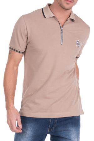 Рубашка-поло Sir Raymond Tailor. Цвет: коричневый