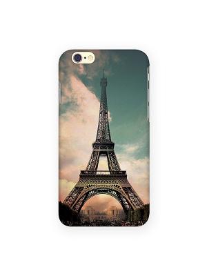 Чехол для IPhone 6 Эйфелева - старое фото Mitya Veselkov. Цвет: зеленый, коричневый