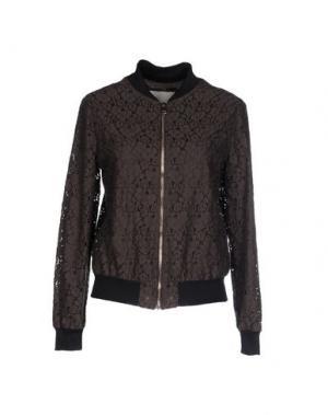 Куртка TROU AUX BICHES. Цвет: темно-коричневый