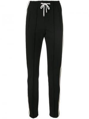 Спортивные брюки с полосками Dondup. Цвет: чёрный