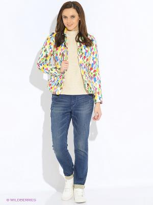 Куртки GEOX. Цвет: белый, желтый, зеленый, розовый, синий