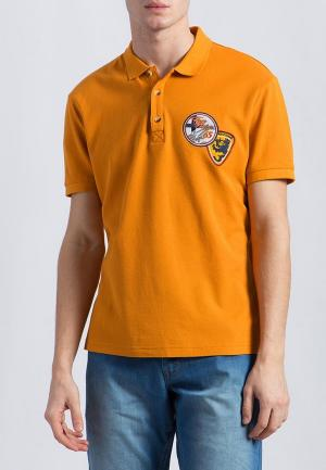 Поло Finn Flare. Цвет: оранжевый