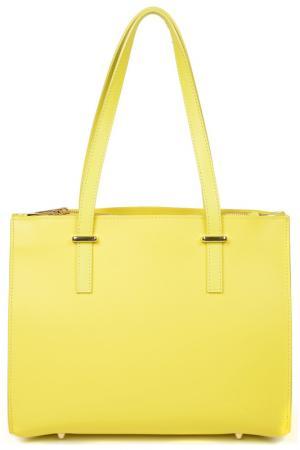 Сумка LUISA VANNINI. Цвет: yellow