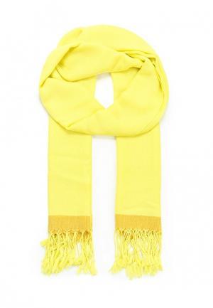 Палантин Fete. Цвет: желтый