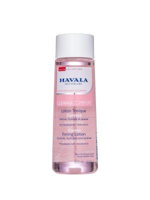 Тонизирующий Лосьон для деликатного ухода Clean & Comfort Careless Toning Lotion 200ml 9058614 Mavala. Цвет: розовый