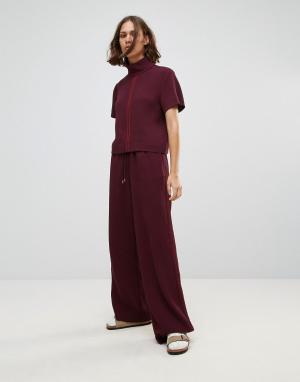 Wood Свободные брюки Josette. Цвет: красный