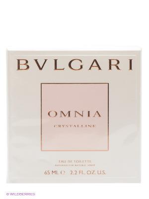 Туалетная вода Bvlgari Omnia Crystalline, 65 мл. Цвет: прозрачный