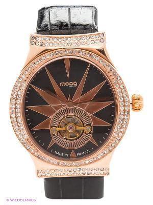 Часы MOOG. Цвет: черный, золотистый