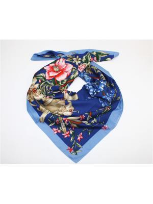 Платок Dolci Capricci. Цвет: синий, голубой