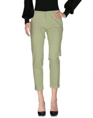 Повседневные брюки 19.70 NINETEEN SEVENTY. Цвет: светло-зеленый