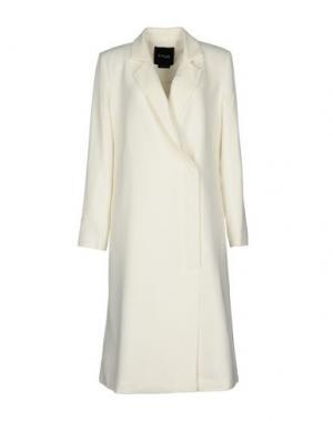 Легкое пальто TY-LR. Цвет: слоновая кость