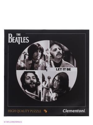 Пазл The Beatles Get Back, 212 эл. Clementoni. Цвет: черный