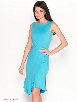 Платье Hammond. Цвет: голубой