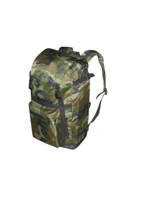 Рюкзак СИБИРЬ 60Л., OXFORD 600D, ЦВ. КАМУФЛЯЖ (SIB60B) Campland. Цвет: зеленый, коричневый, хаки