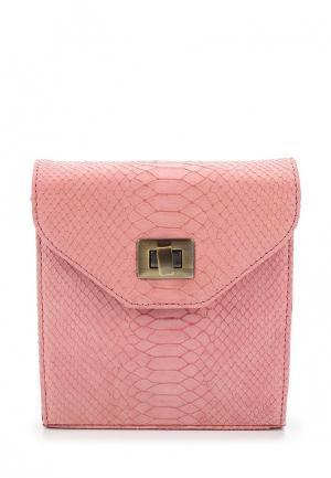 Сумка D.Angeny. Цвет: розовый