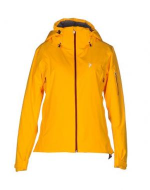 Куртка PEAK PERFORMANCE. Цвет: желтый