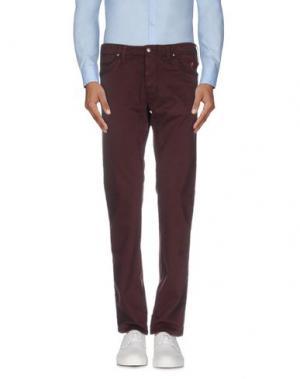 Повседневные брюки JAGGY. Цвет: какао