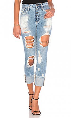 Рваные прямые джинсы amx PRPS Goods & Co. Цвет: none