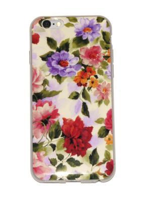 Чехол для iPhone 6/6s Lola. Цвет: бежевый, красный, зеленый