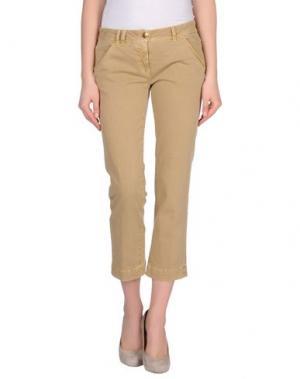 Повседневные брюки M.GRIFONI DENIM. Цвет: верблюжий