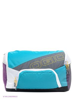 Сумка Runners Bandollier Purple/Teal Ogio. Цвет: голубой