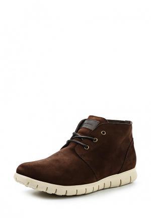 Ботинки Floktar. Цвет: коричневый