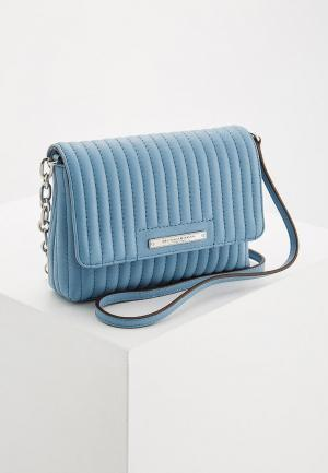 Сумка DKNY. Цвет: голубой
