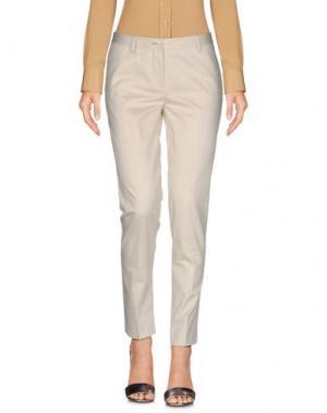 Повседневные брюки BRIAN DALES. Цвет: слоновая кость