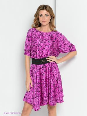 Платье ZAYKINS. Цвет: сиреневый