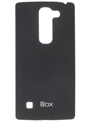 Клип-кейс для LG Spirit skinBOX. Цвет: черный
